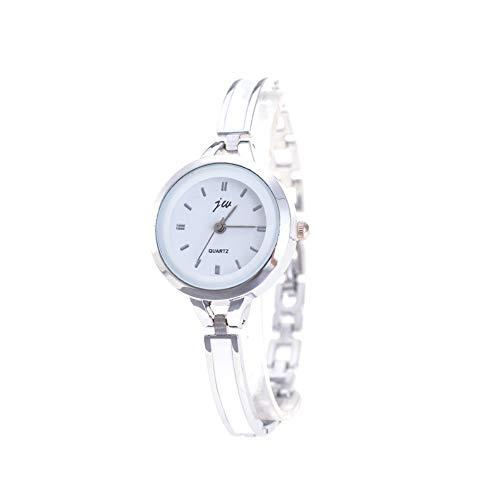 Rrunzfon Las Mujeres Reloj Pulsera de Cuarzo analógico Reloj con Ultra Fina cerámica imitación Metal...