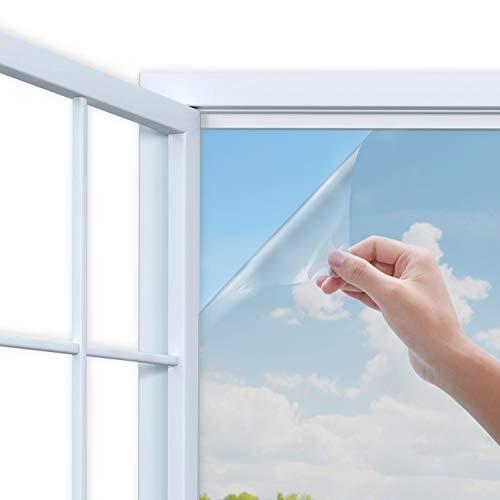 Descrizione Il film per finestre blocca fino al 99% dei raggi UV dannosi, mentre riduce il calore, riflette i raggi solari all'esterno in estate e mantiene caldo dentro l'inverno, offrendoti una sensazione confortevole a casa o in ufficio ogni giorno...