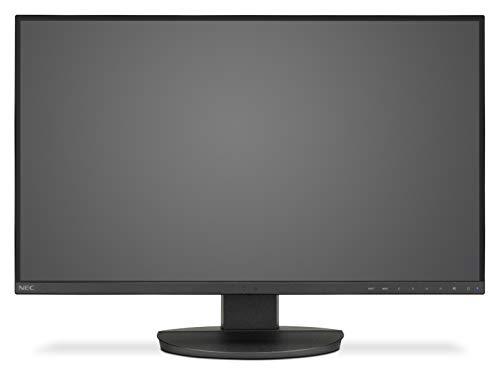 NEC MultiSync EA271U Black 68,6cm 27Zoll LCD Monitor LED Backlight 3-Sided Narrow Bezel 3840x2160 UHD DP 2 xHDMI DVI USB C Narrow Bezel