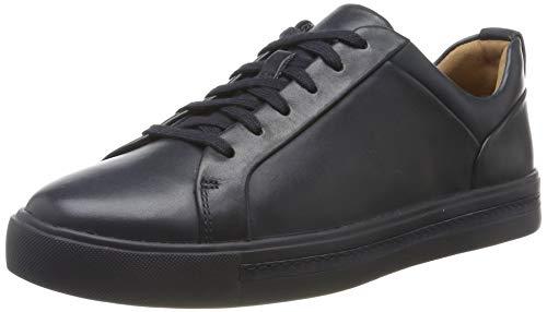Clarks Damen Un Maui Lace Sneaker, Blau Navy Leather, 35.5 EU Navy Leder High Heels