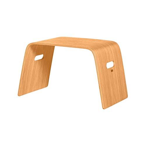 Picknick-Tisch, Sofa, Balkon, Patio, Garten, unter dem Baum, tragbar, einfach, stilvoll, Log, Couchtisch (Color : Natural) ()