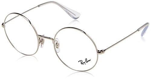 Ray-Ban Unisex-Erwachsene 0RX 6392 2968 50 Brillengestelle, Silber (Silver),