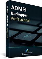 AOMEI Backupper Professional 4.5.1 + Aggiornamenti a vita gratuiti + CD-ROM - Partner ufficiale di AOMEI