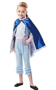 Rubies Disfraz oficial de Disney Toy Story 4, Bo Peep Girls Deluxe, tamaño pequeño para niños - Edad 3 - 4 años