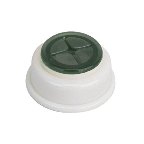 Sharplace Handtuchklemme Geschirrtuchklemme Bad und Küche Push-in Selbstklebend Plastik