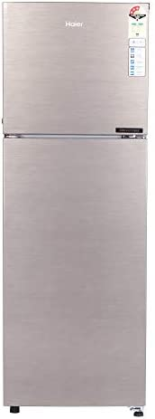 Haier 258 L 3 Star Inverter Frost-Free Double Door Refrigerator (HEF-25TDS, Brushline Silver)