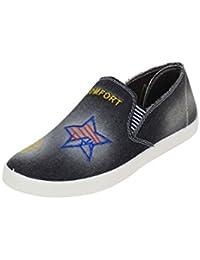 Surplus-Denim-Men-Black-Casual Shoe