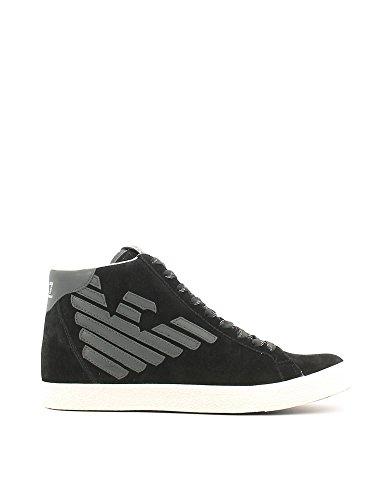Scarpe Emporio Armani EA7 SNEAKER ALTA men's shoe 278039 CC299 Black - 10 US - 44 EU