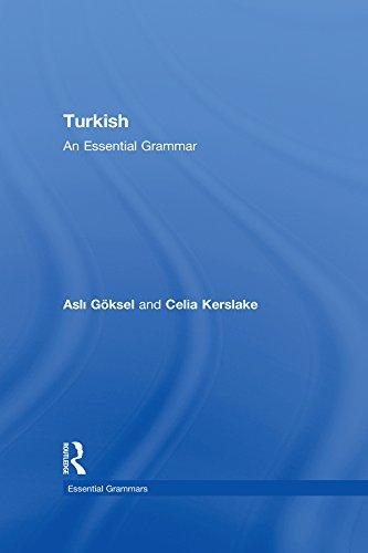 Turkish: An Essential Grammar (Routledge Essential Grammars)