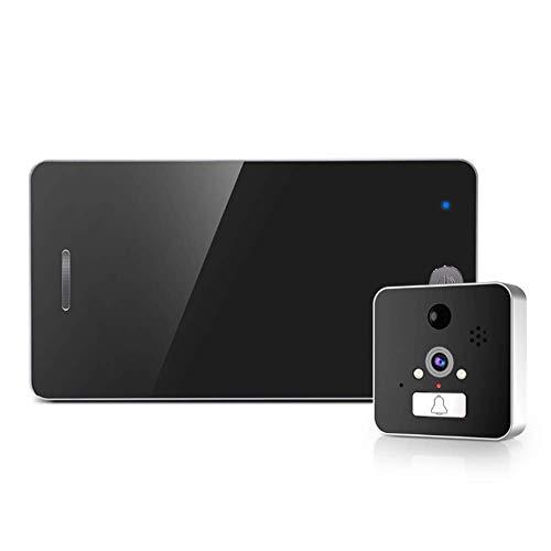 SHUAISHUAI 4,3 Zoll Intelligente Elektrische Türspion WiFi Video Türklingel Kamera Ir Nachtsicht Motion Detection House Security System Intelligente Motion-detection