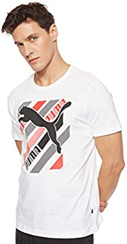 Puma Men's Cat Brand Graphic T-S