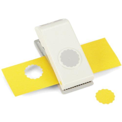 Unbekannt EK Success Medium Punch-Scallop Kreis, 1, andere, Mehrfarbig (Ek Success Nesting Paper Punch)