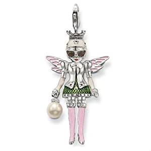 GOMO 925 sterling silver pendant lovely 925 silver girl pendant charm