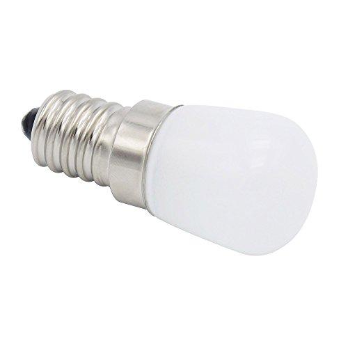 Phigoning 1 Stück LED Kühlschrank Birne Lampe Leuchtmittel E14 3W COB LED Lampe Licht Kaltweiß AC220-240V