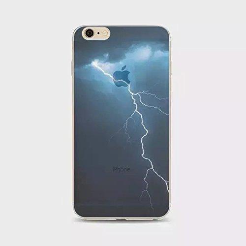 Vandot Ultra-thin Ultra-Light Mince Coque Housse Cas pour Apple Iphone 6S / Iphone 6 4.7 Pouces TPU Silicone Bumper Edge Case et Dur PC Plastique Cover Hull Design 12