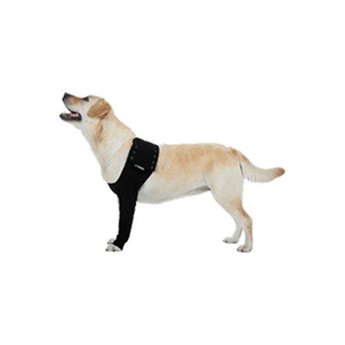 Suitical Recovery Hund Ärmel, groß, Schwarz
