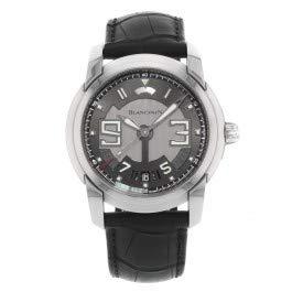 Blancpain l-evolution 8giorni acciaio nero automatico mens orologio 8805-1134-53B