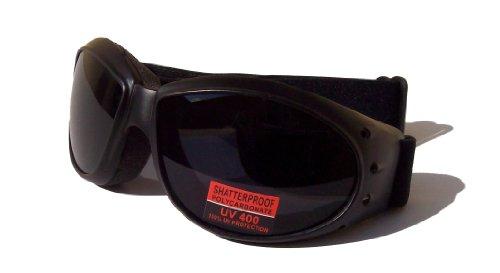 Peerser Moto motard antibuée incassables Lunettes de natation avec verres teintés Lanes Eyewear USA