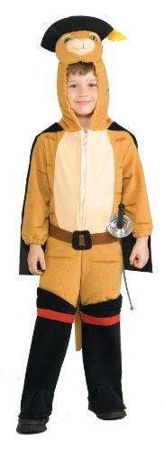 Gestiefelter Kater Kostüm für Kinder - ()