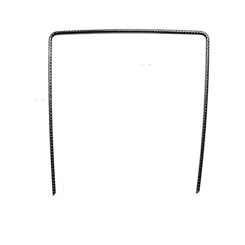 Vilmorin - Agrafes métalliques 20cm x 20cm pour films paillage