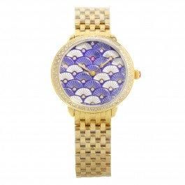 Michele Serein MWW21B000102dorato & .59Cttw diamante quarzo Orologio da donna