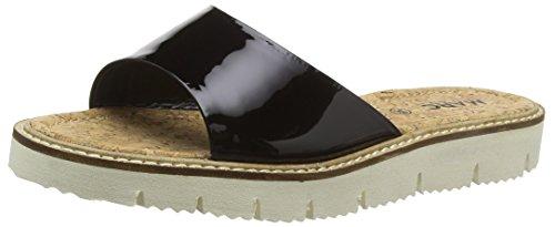 Marc Shoes Damen Mia Pantoletten Schwarz (black 100) 37 EU Mia Suede Shoes