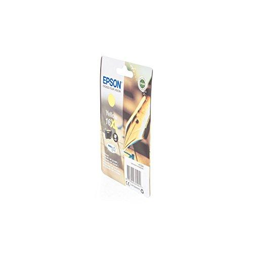 Preisvergleich Produktbild Original Tinte passend für Epson WorkForce WF-2750 DWF Epson 16XL , T1634 , T16344010 C13T16344010 , T163440 - Premium Drucker-Patrone - Gelb - 6,5 ml