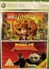 Kung Fu Panda + Lego Indiana Jones Bundle - Indiana Xbox Lego Jones