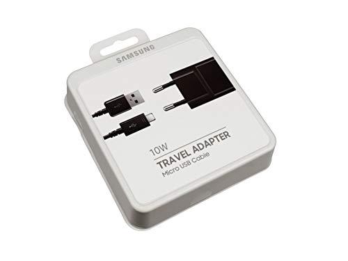 Samsung Micro USB Netzteil 10 Watt EU schwarz Original inkl. Ladekabel Galaxy Tab S2 9.7 LTE (SM-T819) Serie - Samsung Tab Galaxy Für Stromkabel