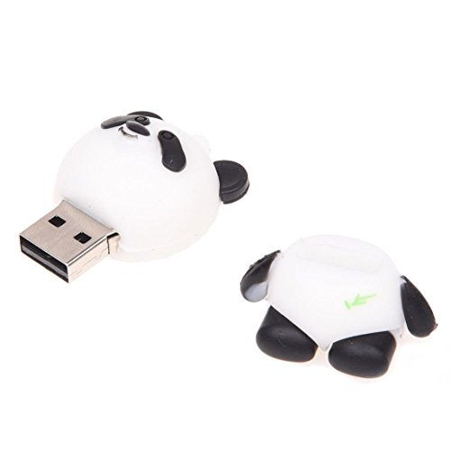 SODIAL(R)Cartoon Panda Neu 32 GB niedlicher USB Flash Schluessel Memory Stick - 4