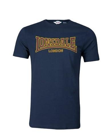 Lonsdale Classic - T-Shirt Sportswear - Homme, Bleu (Bleu Royal) -S (Taille Fabricant : S)