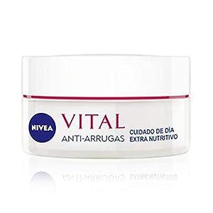 NIVEA Vital  – Crema Anti-Arrugas Cuidado de Noche, Regeneradora – 50 ml