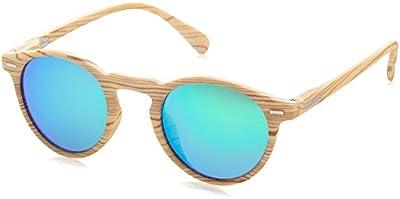 D.Franklin ULTRA LIGHT IWOOD / GREEN - gafas de sol, unisex, color verde, talla UNI