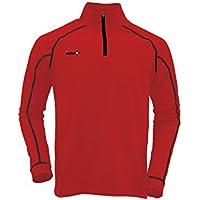 Izas IMEPS00780, Camiseta de manga larga para hombre, color Rojo (Red/Black), talla Large