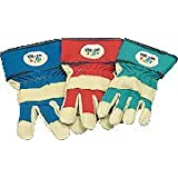 Gants de jardin pour enfants 6-8yrs blue red