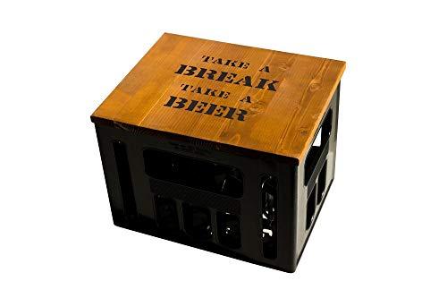 Geschenkidee Geburtstagsgeschenk Bierkastensitz Bierkistensitz Sitzauflage Bierkiste Bierkasten Sitz...