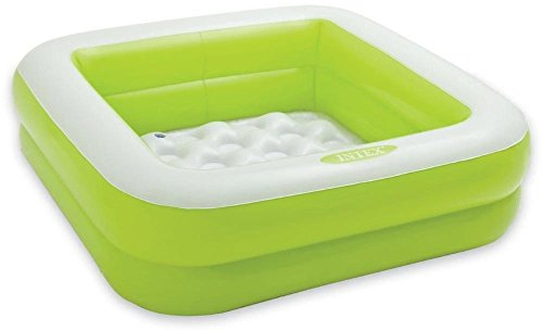 Aarushi Intex Inflatable Baby Bath Tub (Color May Vary Green or Pink)