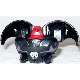 Bakugan B2 Bakupearl Single LOOSE Figure Darkus Black RAVENOID 500G [Toy]