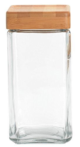 Anchor Hocking luftdicht Glas Pasta Cookie Candy Jar mit Deckel stapelbar Gläser, 2.2 Litre Anchor Hocking Candy Jar
