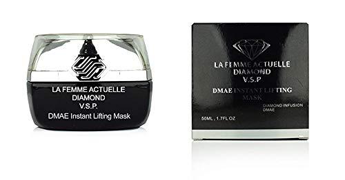 La Femme Actuelle Diamond V.S.P DMAE Sofortige anhebende Maske Für Gesicht - Verbessern Sie die Elastizität und straffen Sie Ihre Haut DMAE Instant Lifting Mask -