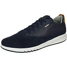 7cef3698 Geox AERANTIS U927FA Hombre Zapatillas,mínimo,varón Zapatos Deportivos, Zapato con Cordones,