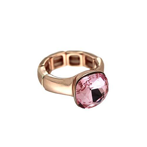 Sweet Deluxe Stretchring Diva, Rosegold/Rose I Damen-Ring I Mode-Schmuck Ring für Frauen I Ringe Rings für Mädchen I modisches Design-Accessoires