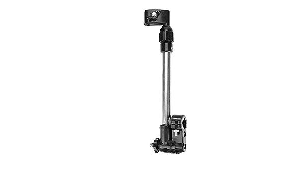 Keenso Supporto per ombrellone per Bici Supporto per Barra per ombrelli Robusto Supporto Regolabile per Manubrio da 22-25 mm