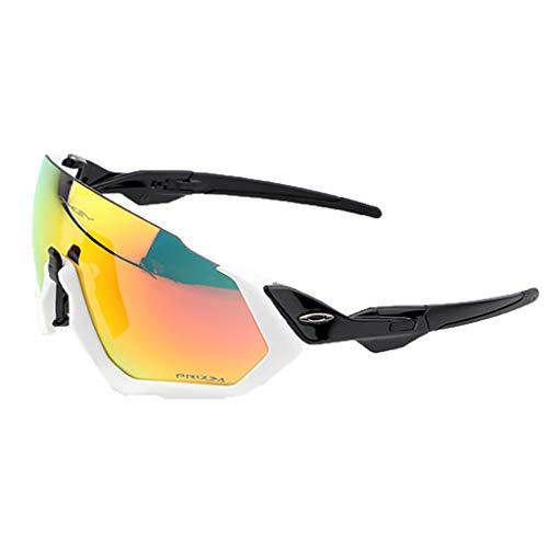 Glücklich zusammen Reiten polarisierte Brille Half Frame Outdoor Sports Sonnenbrillen Laufen (Color : #2)