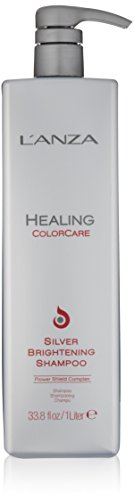 L'ANZA 40633A Healing ColorCare Silver Brightening Shampoo (Shampoo Brightening Silver)