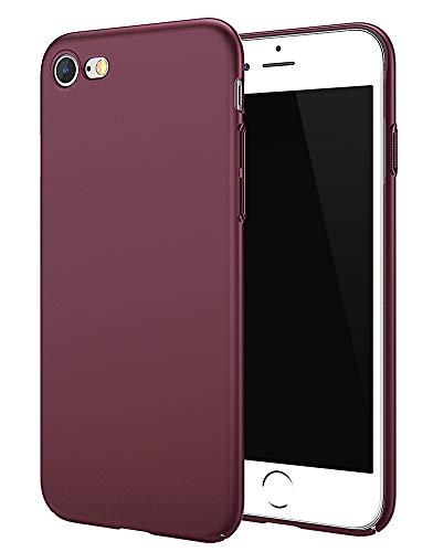EMIRROW iPhone 7 Hülle / iPhone 8 Hülle Hochwertigem Handyhülle Case Stoßfest Slim Dünn - Schutzhülle Lila