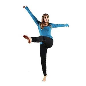 Leela Cotton Damen Yoga-Hose Bio-Baumwolle/Elasthan