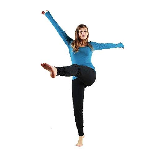 Leela Cotton - Pantalon de sport - Femme Noir