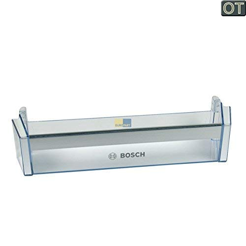 """Bosch Siemens 704760 00704760 ORIGINAL Absteller Abstellfach Türfach Seitenfach Flaschenfach Flaschenhalter Flaschenabsteller Kühlschrank Kühlschranktür Aufdruck: \""""Bosch\"""""""