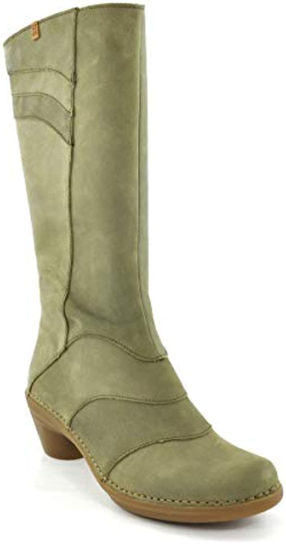 N5329 Pleasant Kaki Aqua verde Donna Stivale con Tacco A Zip | Lussureggiante In Design  | Uomini/Donna Scarpa